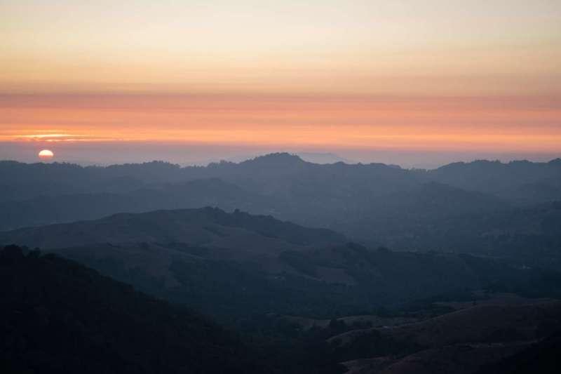 sunset san ramon, California
